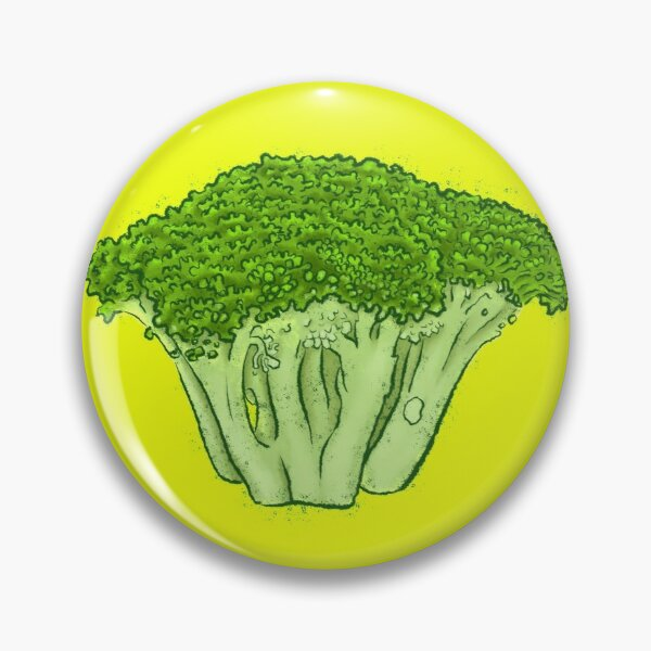 Yes to Broccoli Pin