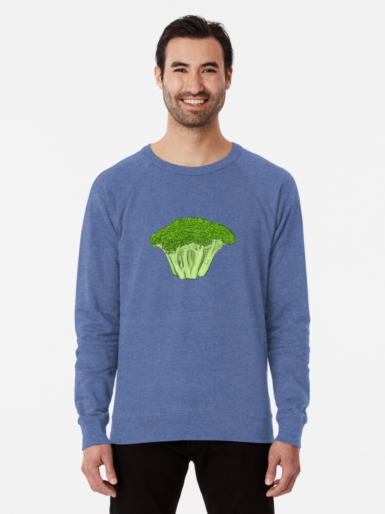 Alternate view of Yes to Broccoli Lightweight Sweatshirt