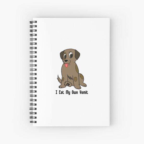 Cute Little Puppy Spiral Notebook
