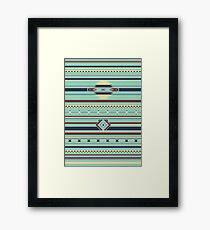 Aztec Pattern Framed Print