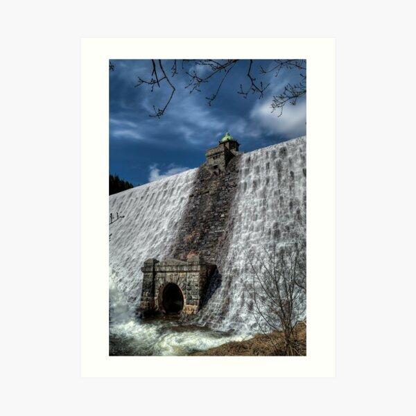 Rhayader dam Art Print