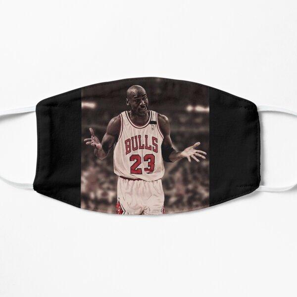 Michael Jordan El encogimiento de hombros Mascarilla plana
