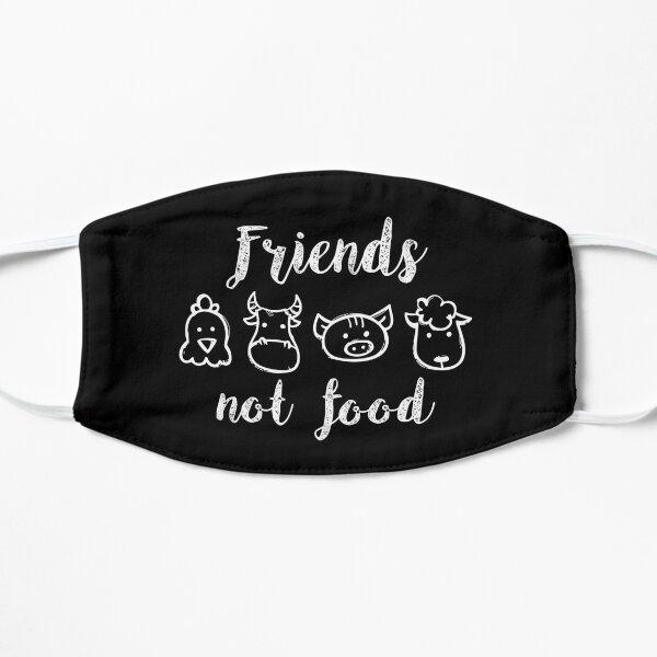 Friends not food vegan Mask