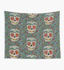 'Sweet Sugar Skull #1 Wall Tapestry