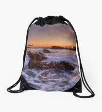 Tangerine Dream Drawstring Bag