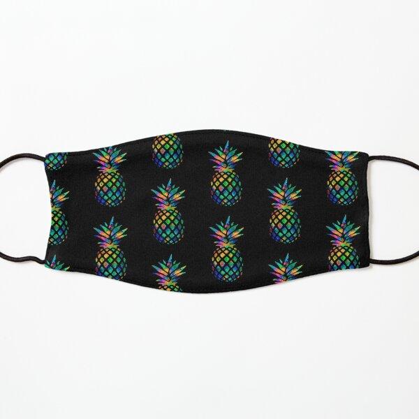 Rainbow Pineapple Kids Mask
