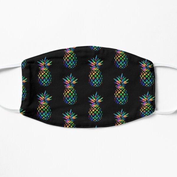 Rainbow Pineapple Flat Mask