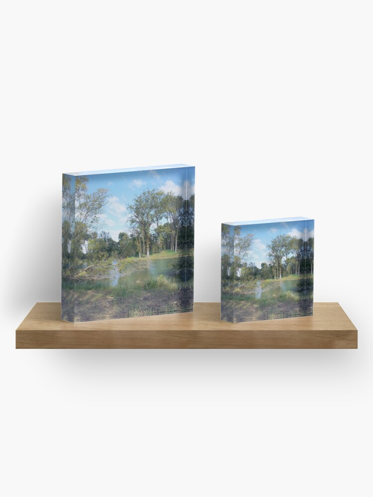 Alternate view of Park Acrylic Block