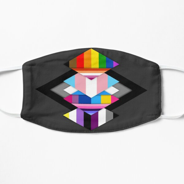 Material Pride - Ally Flat Mask