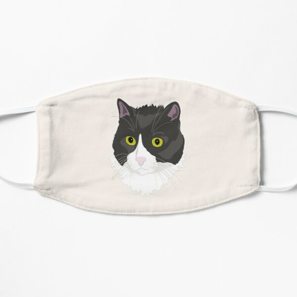 Casual Cat Flat Mask