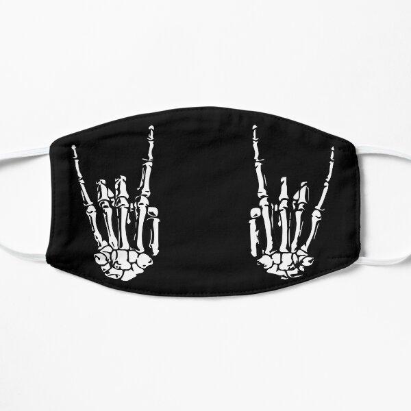 ROCK ON SKELETON HANDS Flat Mask