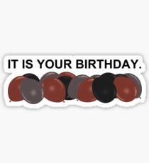 Pegatina Es tu cumpleaños