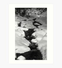 Chateauguay Stream Art Print