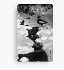 Chateauguay Stream Canvas Print