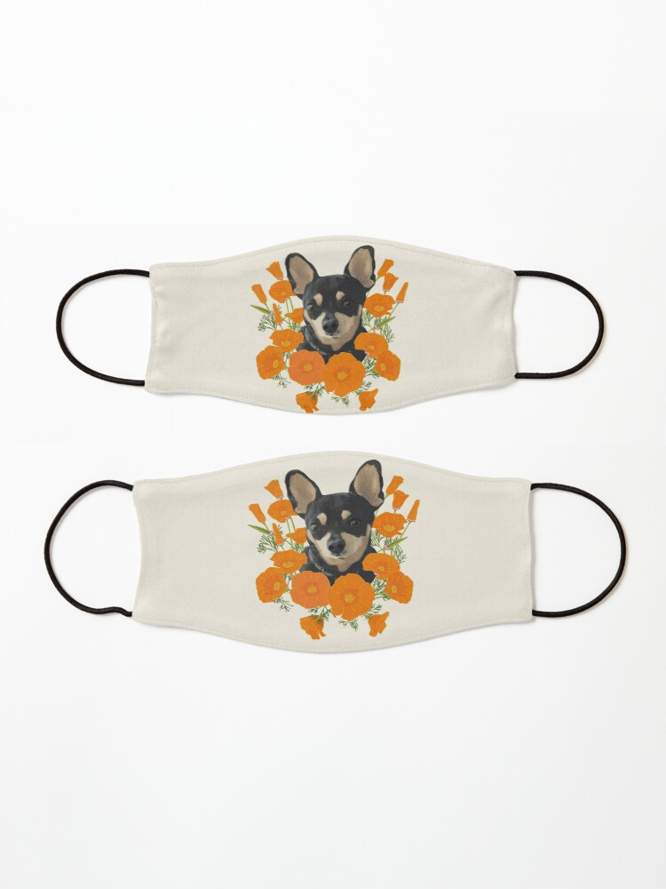 Alternate view of Poppy Dog Mask