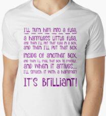 I'll turn him into a flea... in purple T-Shirt
