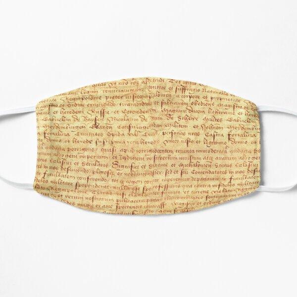 Medieval Manuscript Flat Mask