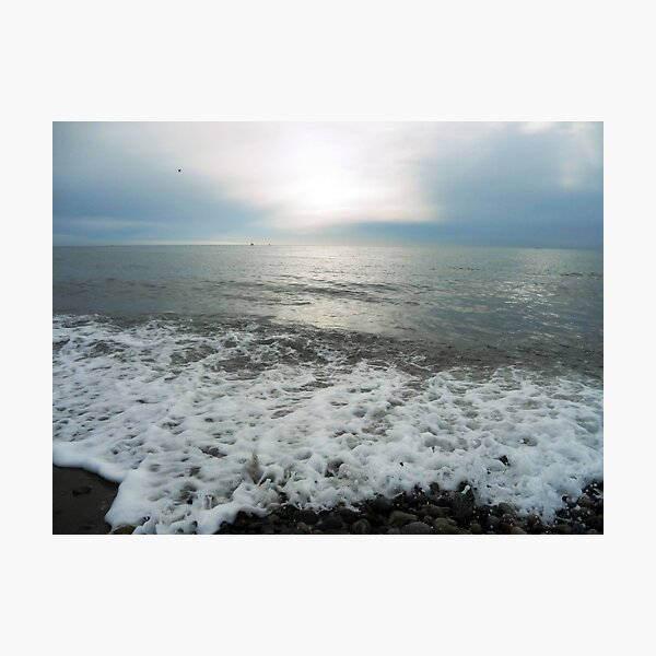 Waves, Kilkeel Beach Photographic Print