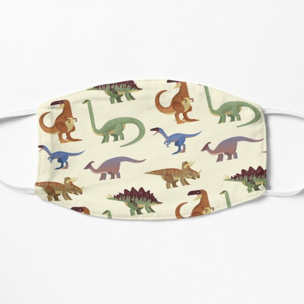 Dinosaur pattern Mask