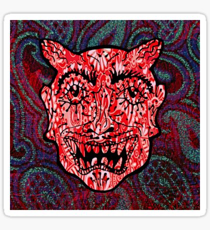 'Handsome Devil Mask #3' Sticker