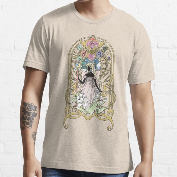 Sailor Moon Crystal Serenity Camiseta esencial