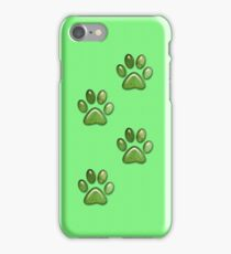 Paw Prints .. iphone case iPhone Case/Skin