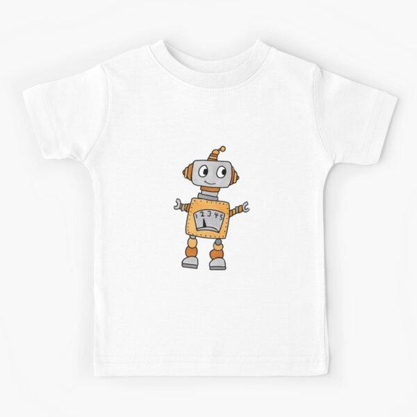 Robot Love Kids T-Shirt
