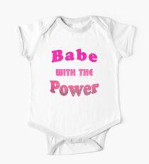 Babe mit der Macht Baby Body Kurzarm