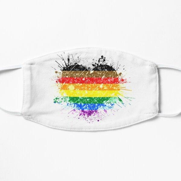 POC Rainbow Heart Pride Flat Mask