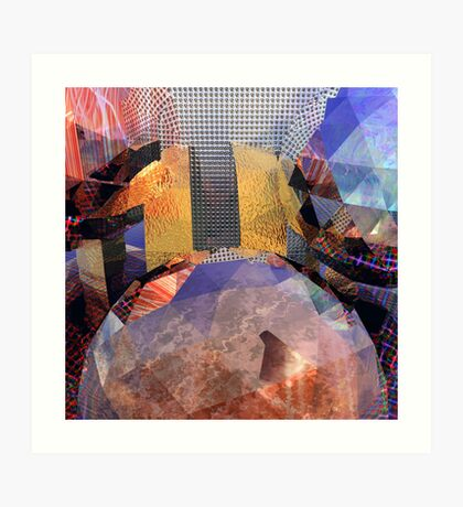 R:X:R // Refraction : Surface : Refraction Art Print