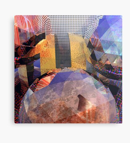 R:X:R // Refraction : Surface : Refraction Metal Print