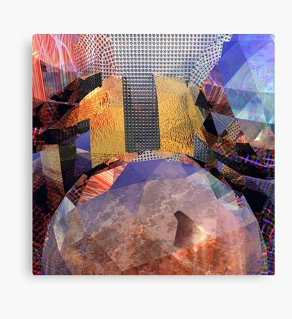 R:X:R // Refraction : Surface : Refraction Canvas Print