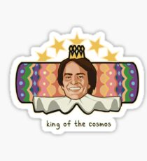 King of the Cosmos Sticker