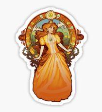 Daisy Nouveau Sticker