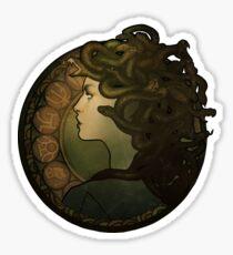 Medusa Nouveau Sticker