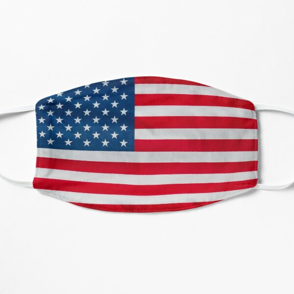 Amerikanische Flagge Maske