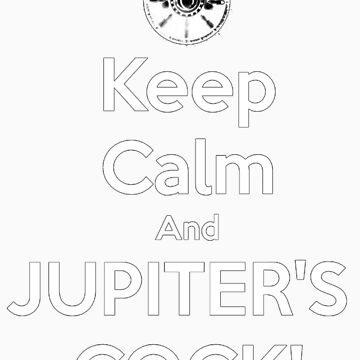 Spartacus - Jupiter's Cock [White Lettering] by ldyghst