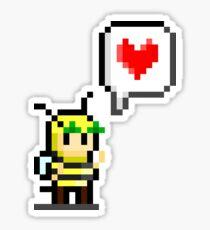 Bumblebee Love Sticker