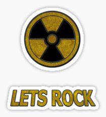 Duke Nukem - Lets Rock Sticker