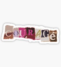 Klaine Courage Sticker