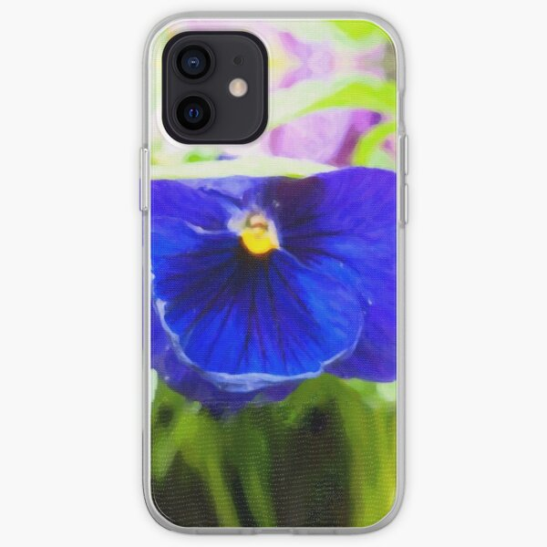 Purple Flower iPhone Soft Case