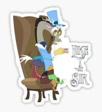 My Little Pony - MLP - Discord - Like a Sir Sticker