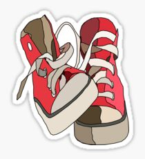 Hightops Sticker