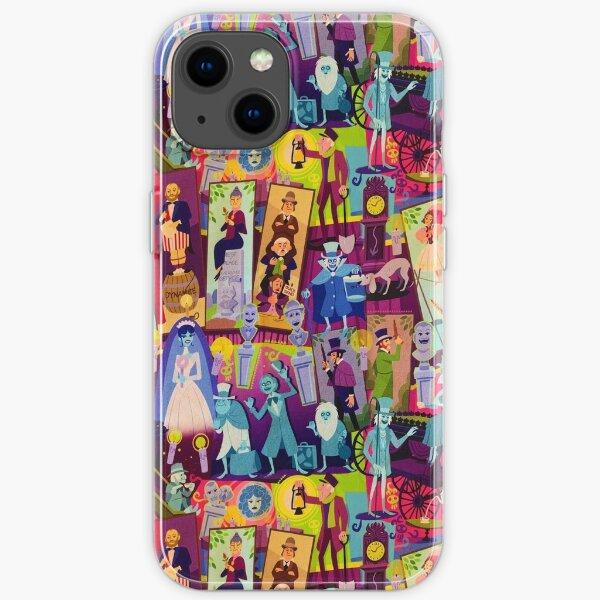 Retro Mansion Collage iPhone Soft Case