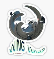 CAC Ceres Wing Warp T-shirt Design Sticker