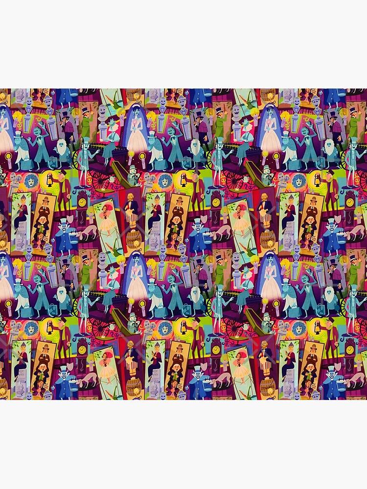 Retro Mansion Collage by Disney1955Fan