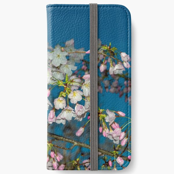 Cherry Blossoms iPhone Wallet