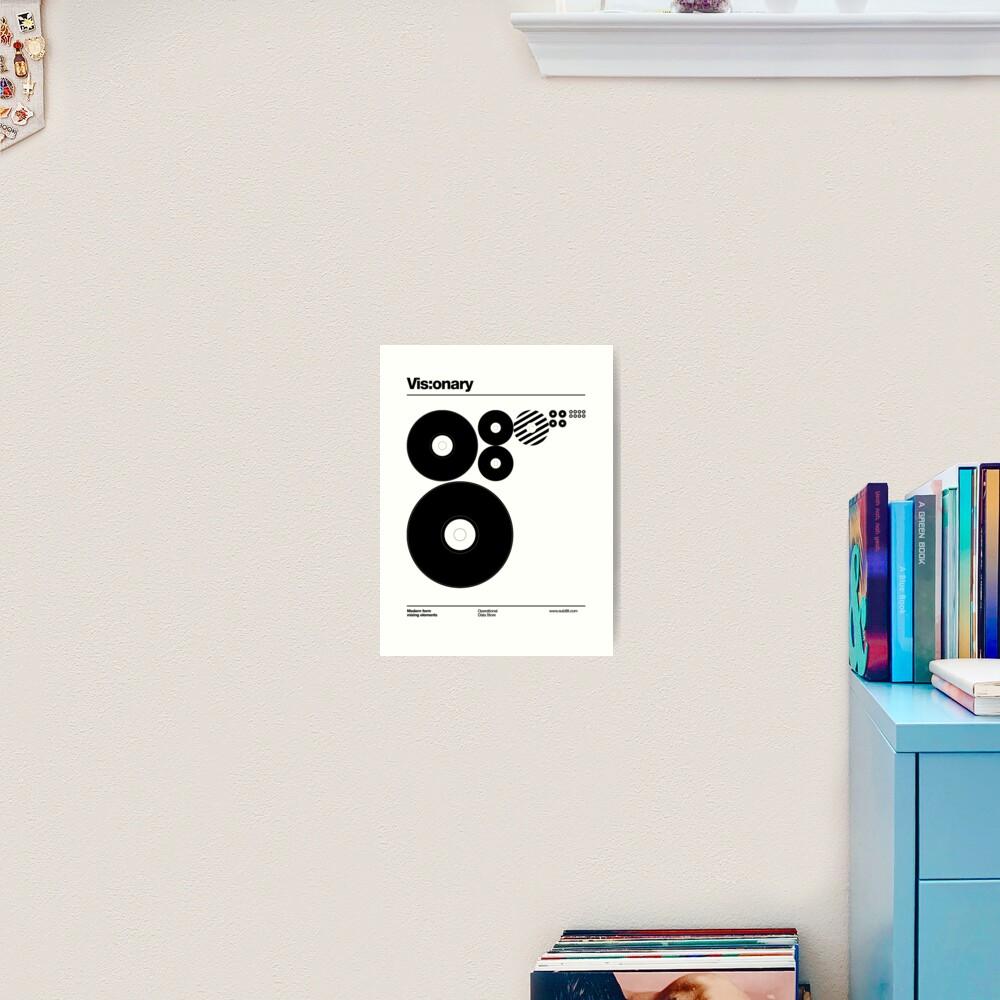 Vis:onary b Art Print