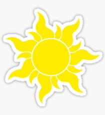 Tangled Sun Sticker