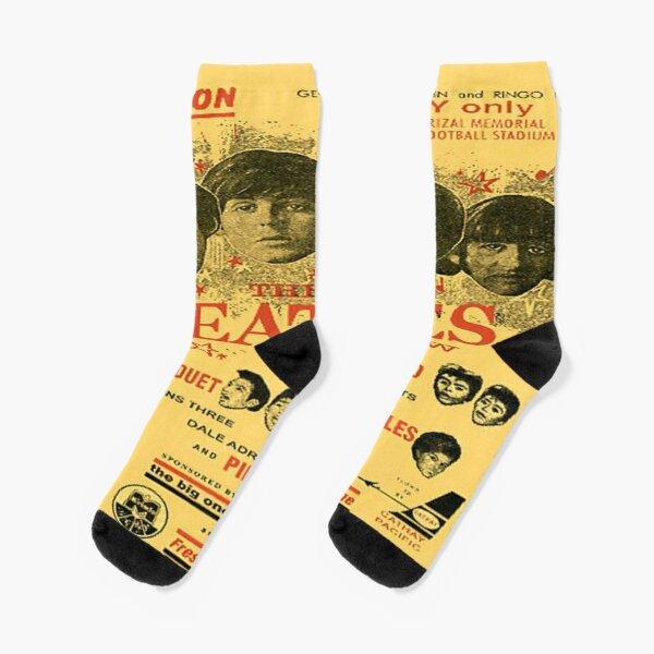 Vintage Tours of the London eye and Big Ben Socks Mens Womens Casual Socks Custom Creative Crew Socks